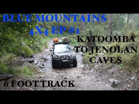 Blue Mountains 4x4 Adventure 1/4 - Katoomba To Jenolan Caves Via 6 Foot Track