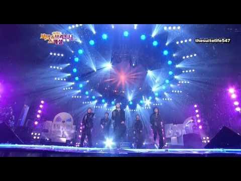 DBSK - O Holy Night + Hug [BoA & Britney Showcase] (03.12.26) {Hangul, Romanization, Eng Sub}