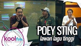 Poey Sting Lawan Lagu-Lagu Tinggi Dengan PHD