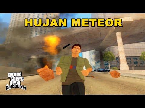 Hujan Meteor di Los Santos - GTA San Andreas Dyom