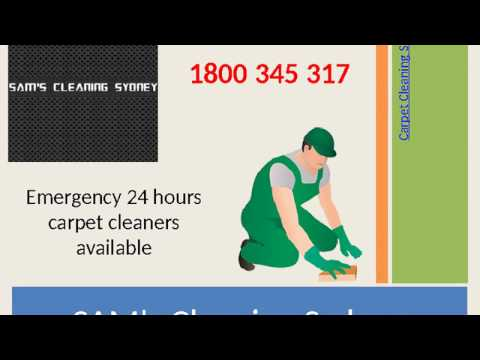 Carpet Cleaning Sydney | 1800 345 317 | Sams Steam Cleaning