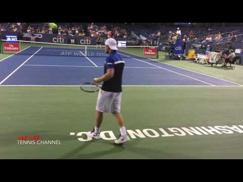 (HD) Denis Kudla vs John Millman 2016 Citi Open 1st rd. Highlights