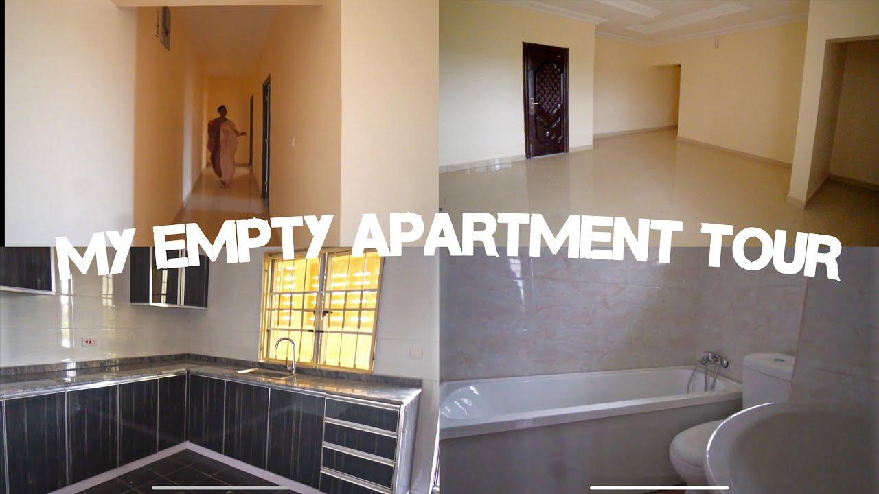 MY ABUJA EMPTY APARTMENT TOUR!! *2 Bedroom Apartment*