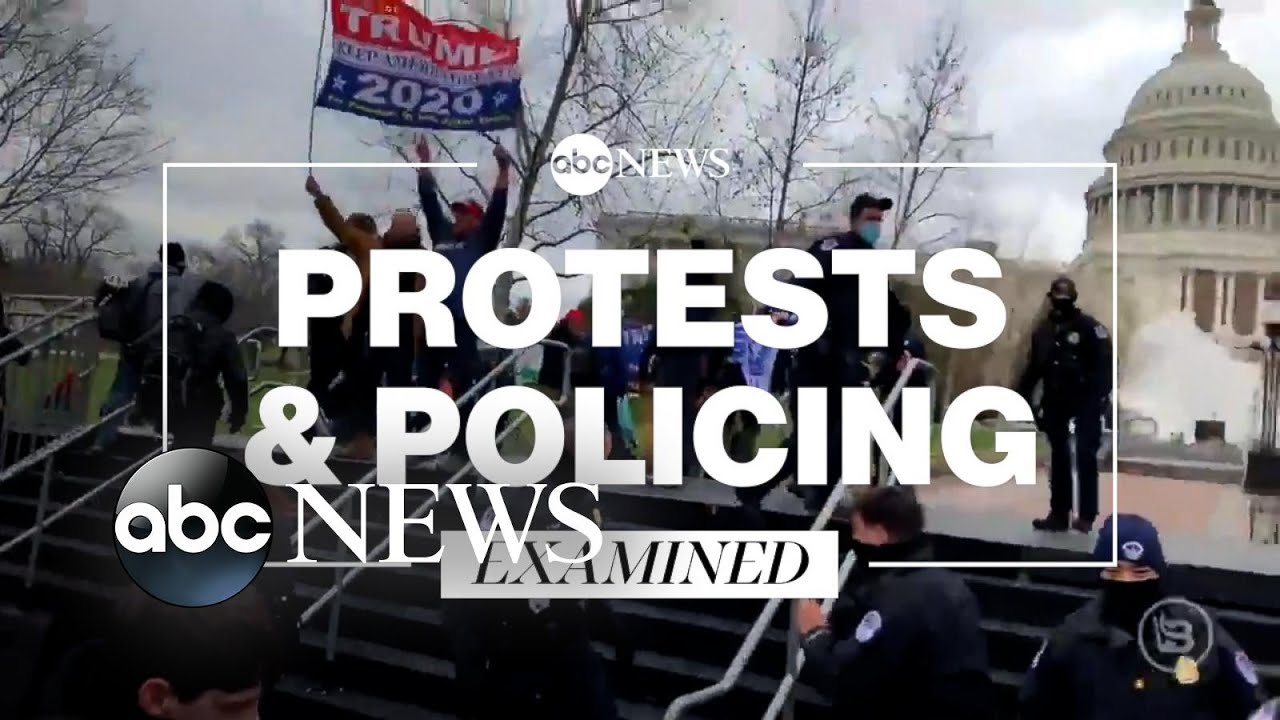 Disparity in police response: Black Lives Matter protests and Capitol riot l ABC News