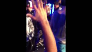 Andy Mineo Live Orlando 6/1/13 Gets hit with a cake