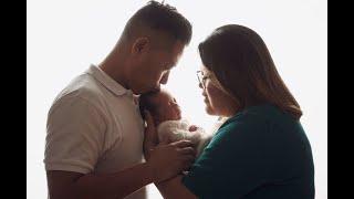 Newborn Session Video Making Of-Baby Azlan