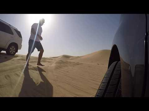 Dune Bashing With Honda MRV - Pilot