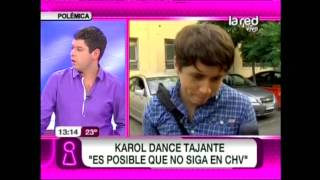Detalles sobre la salida de Karol Dance de CHV