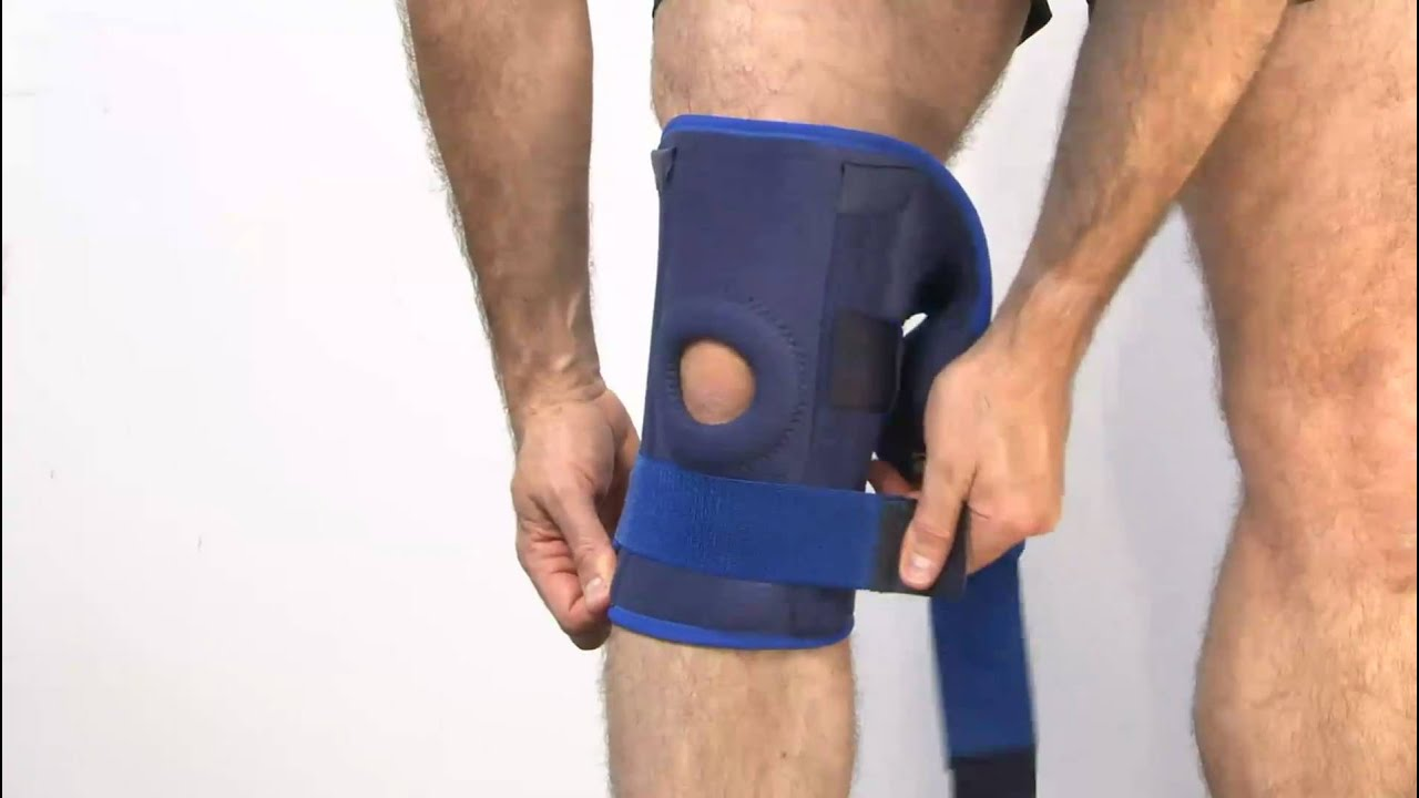 f0aa309454 Neo-G Stabilized Open Knee Support - YouTube