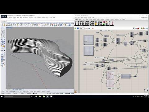 Grasshopper - Making a Parametric Bench
