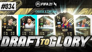 ARE EA RUINING DRAFTS?!?! - #FIFA21 - ULTIMATE TEAM DRAFT TO GLORY #34