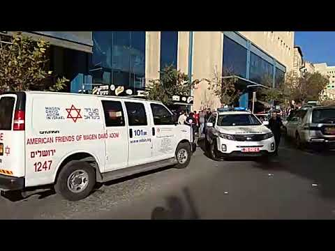 Security guard stabbed at Jerusalem's Central Bus Station
