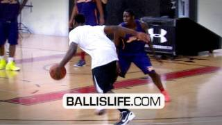 Tyreke Evans Has NASTY HANDLES! Toying With Defenders During Elite 24 Midnight Run! INSANE Handles!