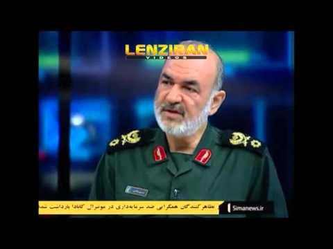 Sardar Salami commander of IRGC threat US to close Strait of Hormuz