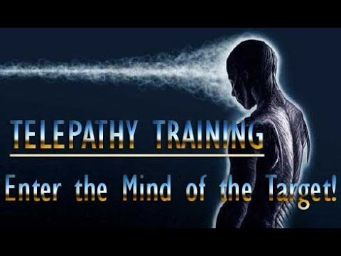 Telepathy Training - Entering The Mind Of The Target