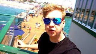 KLEVLOG Action - Bill Murray, Santa Monica Pier und ACHTERBAHN
