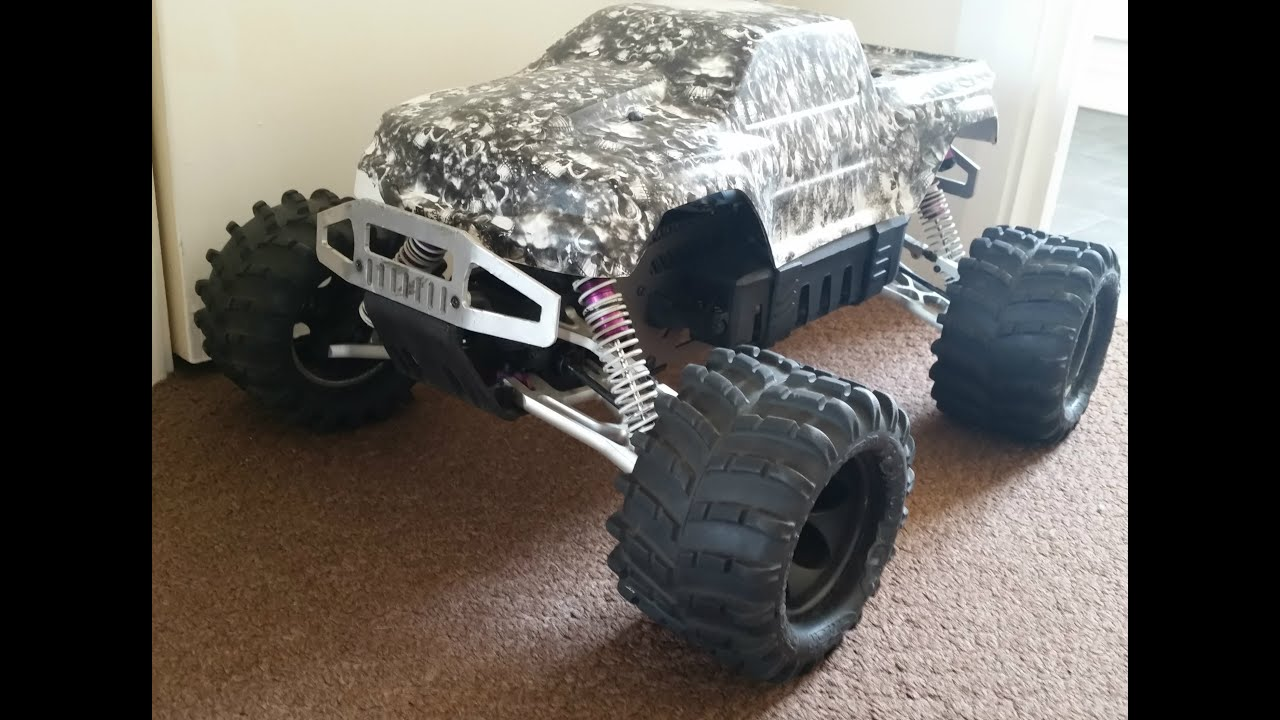 Hpi Savage X 21 Converted To Brushless Flux part 1