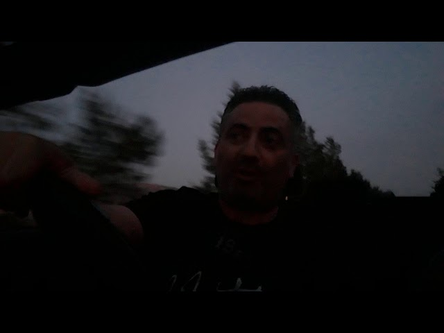Driving to Athienou