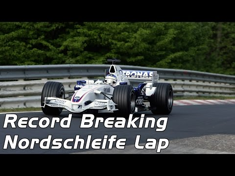 BMW Sauber  F1 - Record Breaking Nordschleife Lap (5m15s)