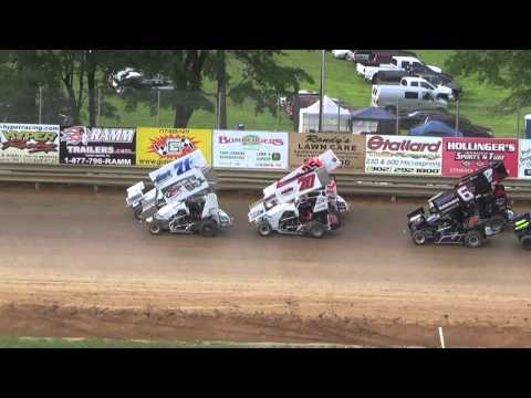 600 Scene Labor Day Winged Feature At Clyde Matin Memorial Speedway