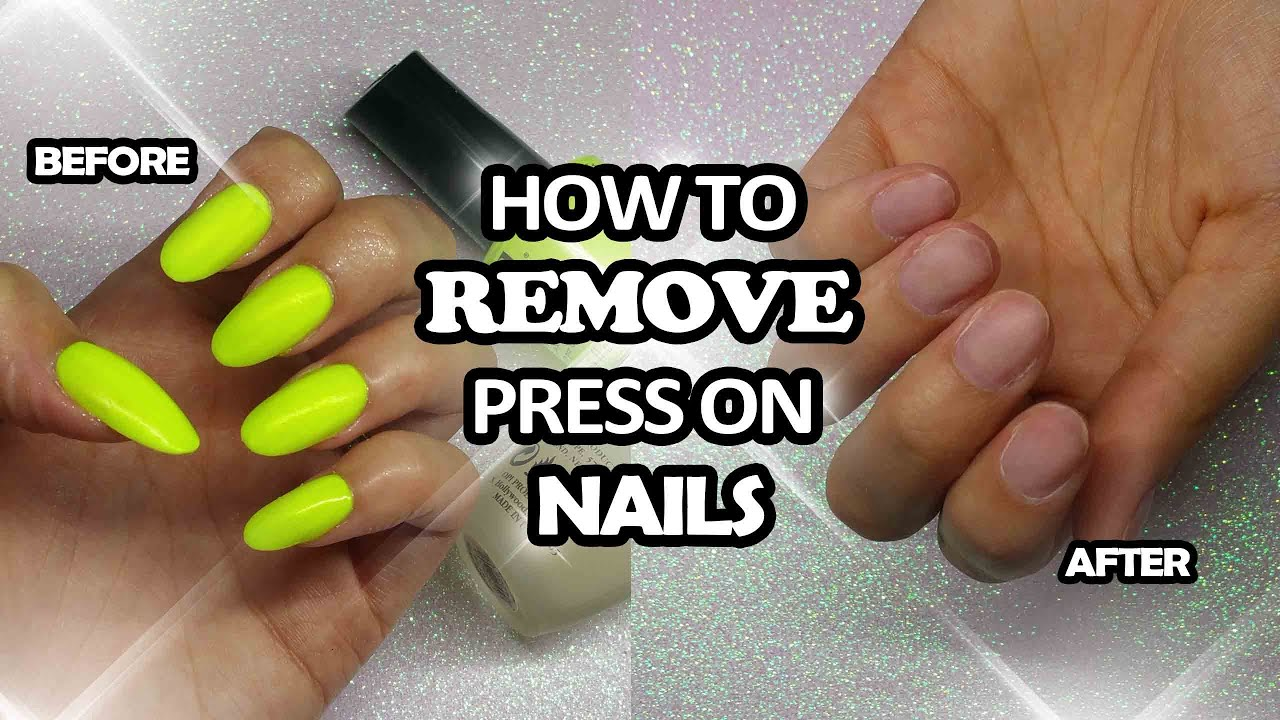 How To Remove Impress Nails