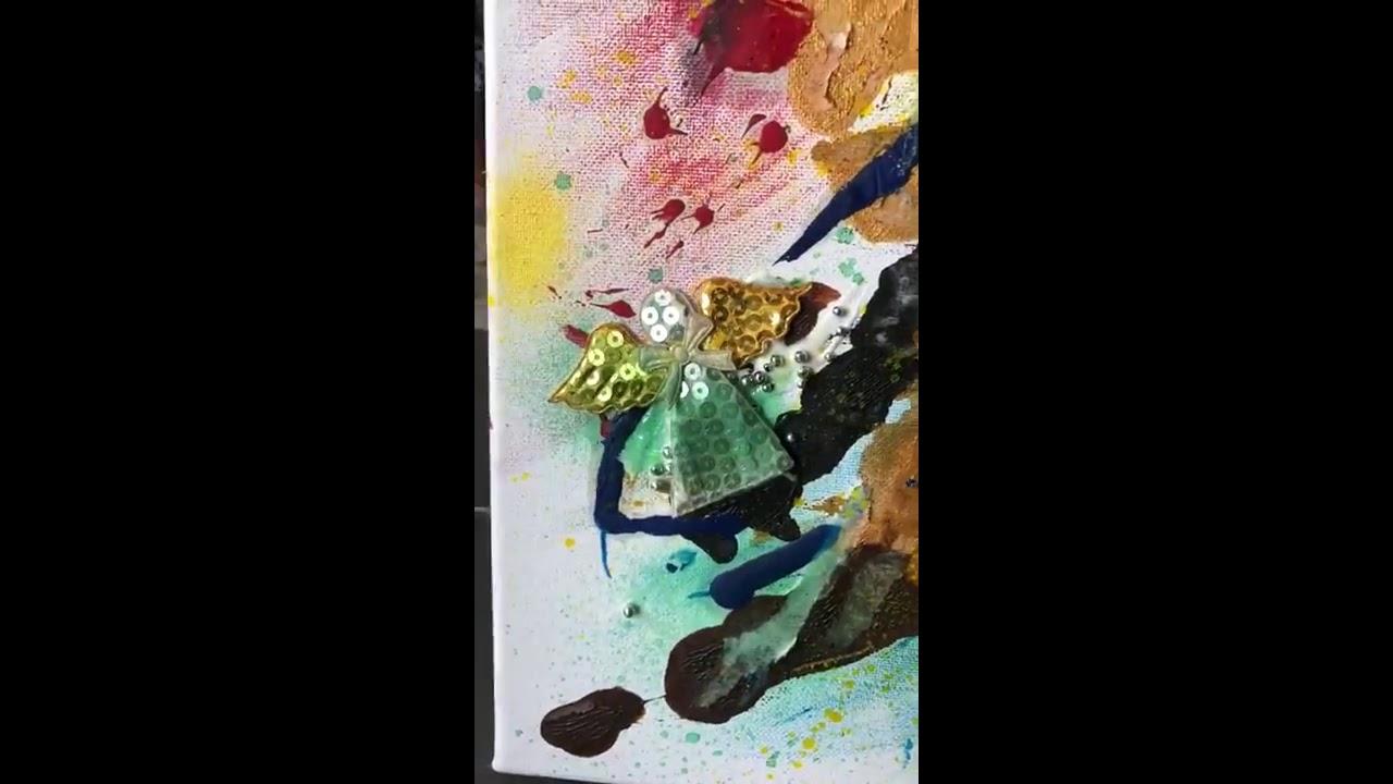 | BEAM x ART | Acrylic Paint | Giddy | 油畫 |浮躁 | - YouTube
