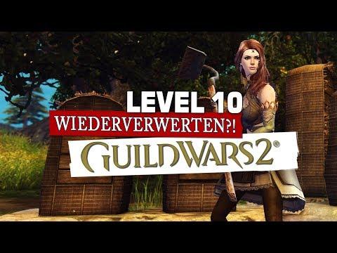 Guild Wars 2 Level 10 & Wiederverwertung ? F2P Account thumbnail