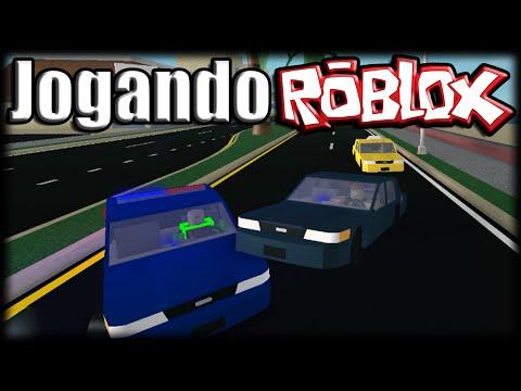 Jogando Roblox - Simulador de Carros!