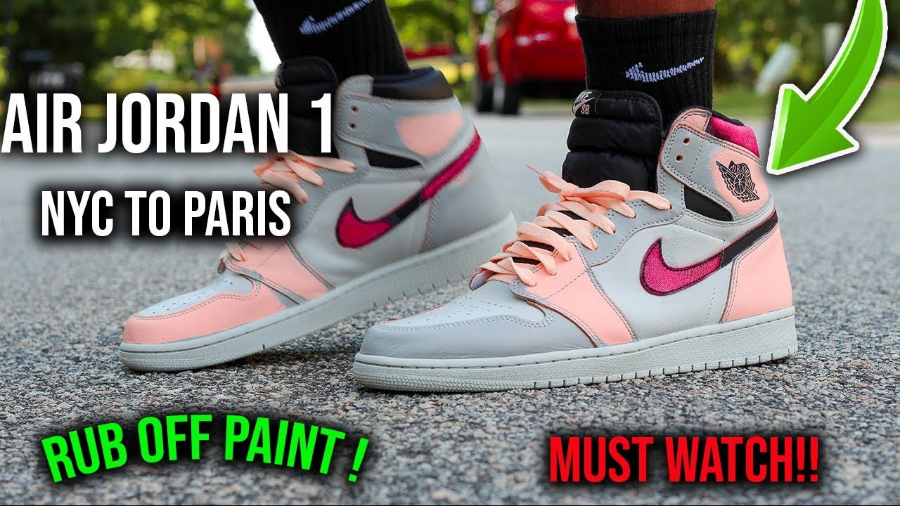 Paint Off My Air Jordan 1 NYC TO Paris