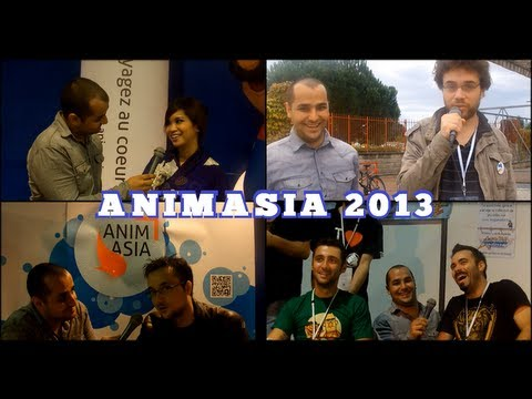 Animasia 2013 – Interviews MrAntoineDaniel, Benzaie, Sparadrap et Kayane