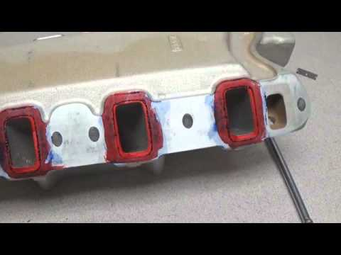 INTAKE MANIFOLD TO CYLINDER HEAD PORT MATCHING PROCESS
