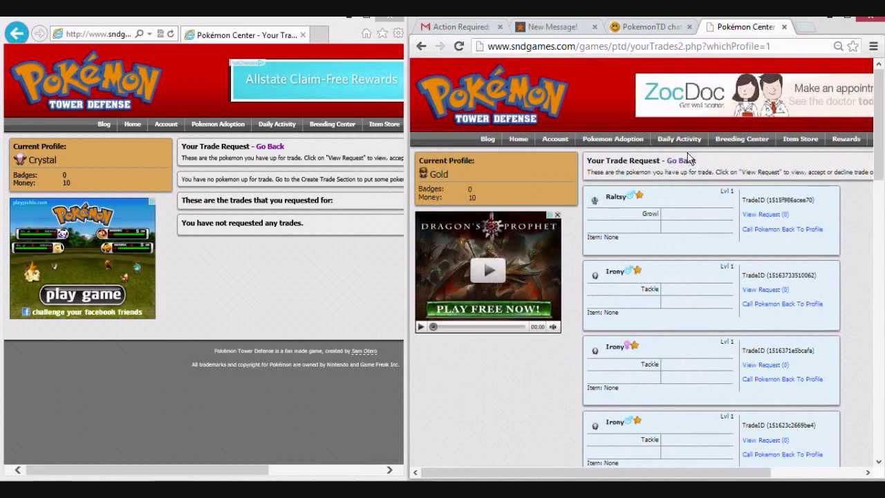 Pokemon center ptd 2 trading center - Pokemon Tower Defense 2 Duplication Hack