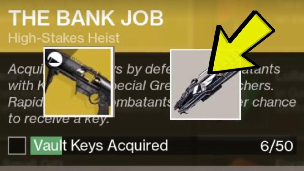 The Bank Job Destiny 2