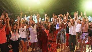 OZEN rajneesh resort - mayan sacred trilogy dance