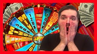 I LANDED IT! YES! SDGuy & Pal Land the MAX WHEEL On Walking Dead Slot Machine! BIG WIN!