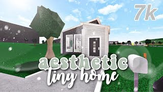 Bloxburg | Aesthetic No Gamepass Tiny Home | 7k