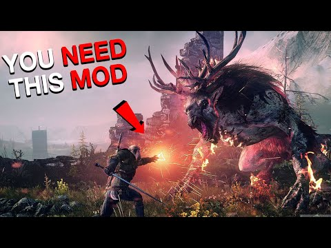 10 AMAZING Witcher 3 Mods 2020 | Have You Tried These Yet?