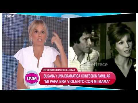 Patricio Gímenez se molestó por los dichos de Susana sobre su papá