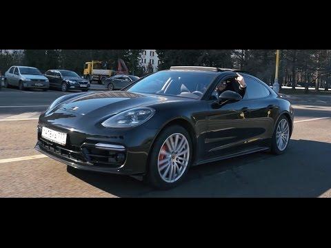 Тест драйв Porsche Panamera TURBO 2017 - ТОП из ТОПа!!!