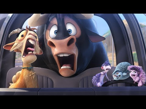 5 New FERDINAND Movie Clips + All Trailers