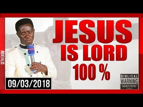Jesus Christ Is Lord Period By Evangelist Akwasi Awuah