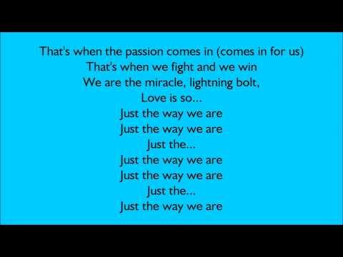 Alesha Dixon - The Way We Are (Lyrics Video)
