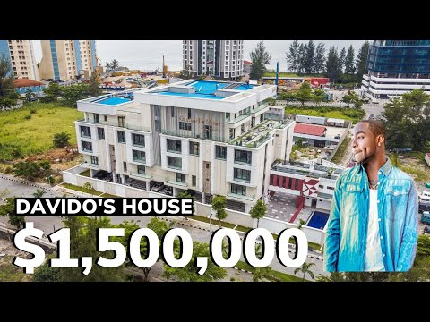Inside Davido's $1,500,000 Mansion in Banana Island Lagos