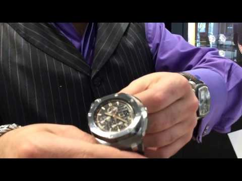 Audemars Piguet Unboxing!  2017 Royal Oak Offshore Titanium and Steel Chronograph