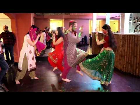 Holi event in  Karachi Darbar Restaurant / Dance group Lakshmi & Rima shamo