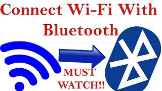 How to Connect WiFi Without Password with Bluetooth (Hindi) MUST WATCH!! 100% Successfully
