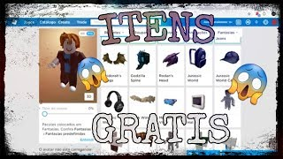 How to get 9 free items in Roblox 😱😱