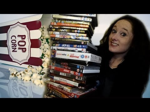 *ASMR* DVD Haul - 47 Films! | Amy McLean