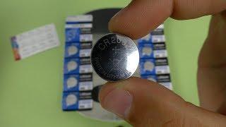 хорошие батарейки YCDC CR2032  тест  Посылка из Китая / AliExpress