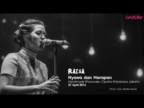 Raisa - Nyawa Dan Harapan (Live At Handmade Showcase)